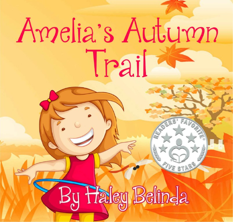 Amelias autumn trail children's book