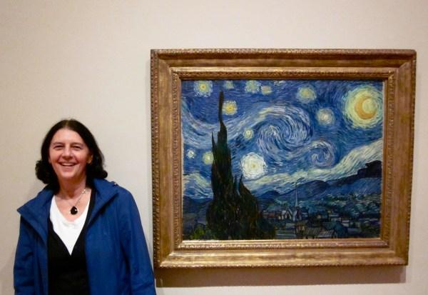 Van Gogh Starry Night MoMA