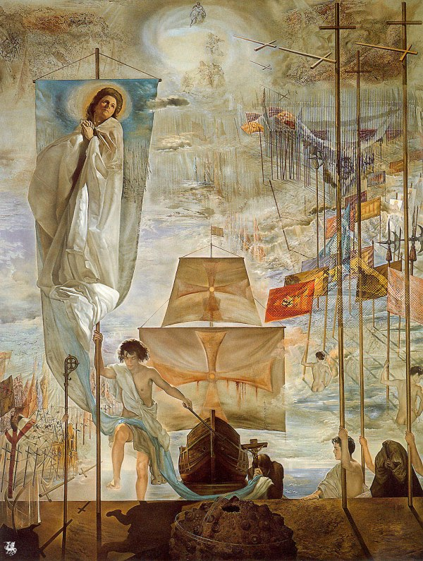 Christopher Columbus by Salvador Dali Discovery of America