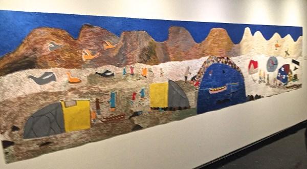 Elisapee Ishulutaq Mural Winnipeg Art