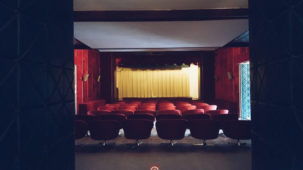Das Kino im Wiedervereinigungspalast