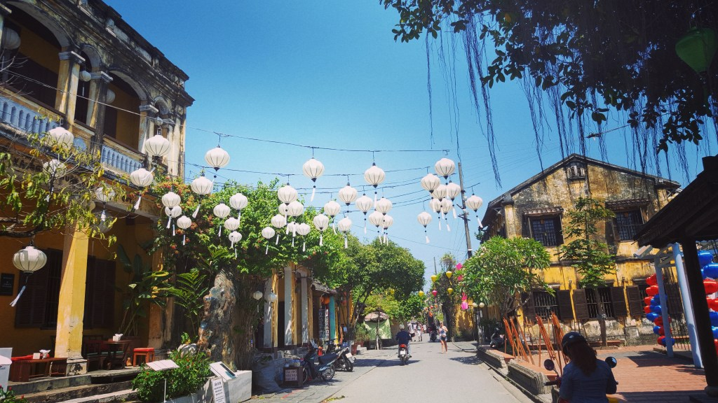 Gasse in Hoi An