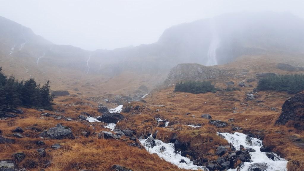 Snæfellsnes - Wasserfall Bjarnarfoss
