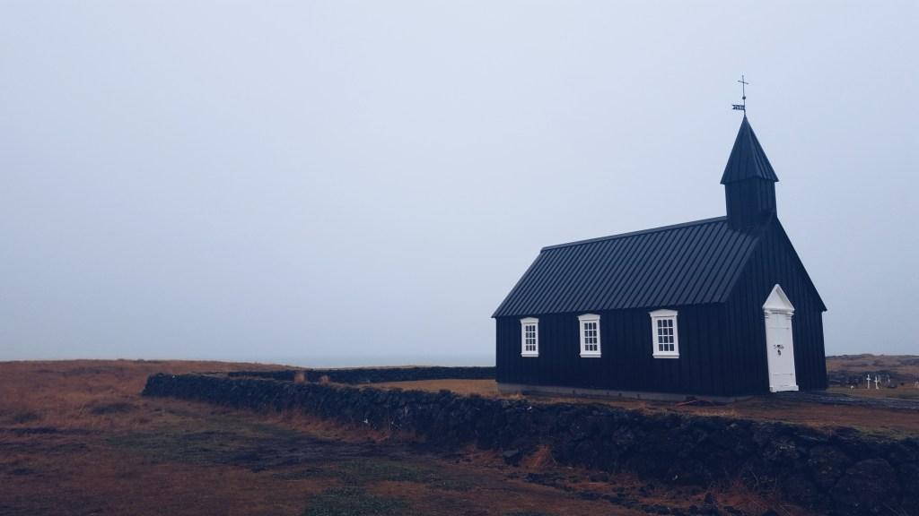 Snæfellsnes -Die Kirche vonBúðir