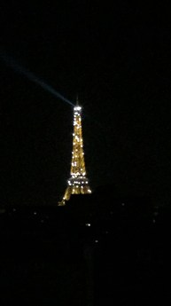 Midnight magic in Paris
