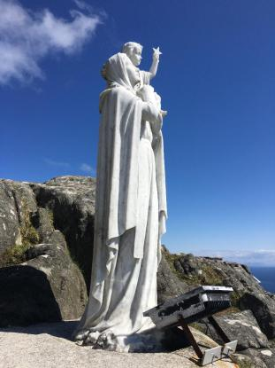 Mother Mary and Yeshua, Isle of Barra, Outer Hebrides, Scotland