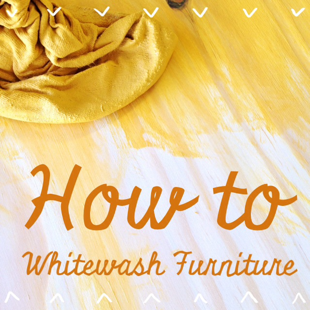 How To Whitewash Wood Furniture Mary Makes Pretty