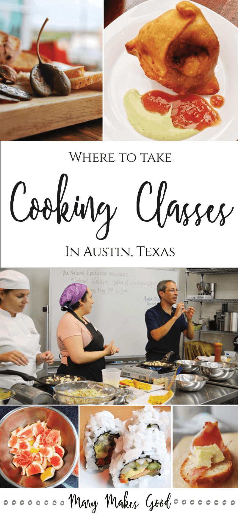 Where to Take Cooking Classes in Austin Texas