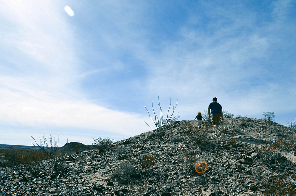 Two Days in Terlingua and Big Bend National Park - creek bed