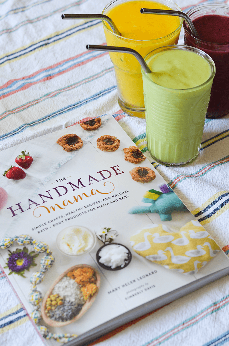 Hydration Smoothies - a recipe from The Handmade Mama by Mary Helen Leonard
