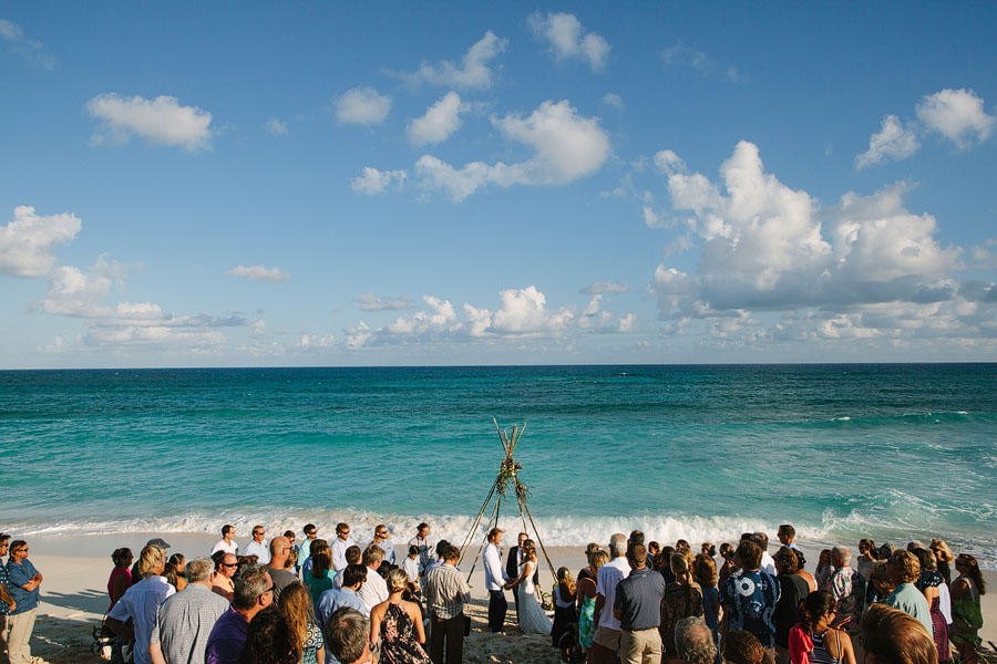 Wedding on the beach in Hope Town