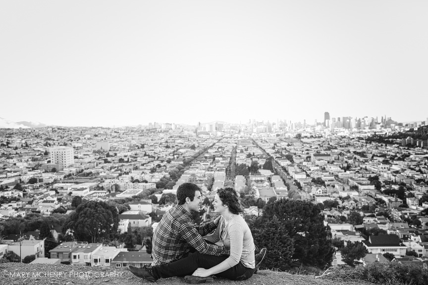 Bernal Hill Engagement