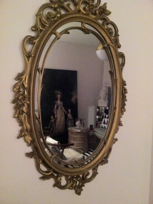 Gilded Mirror- my vintage treasure
