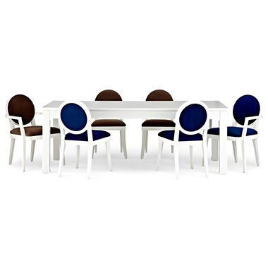 Jonathan Adler table and designing on a whim.