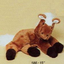 Dobbs Lying Brown Horse