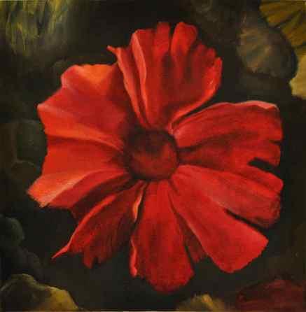 Red Flower 01 b