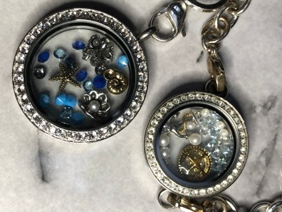 Sea themed locket