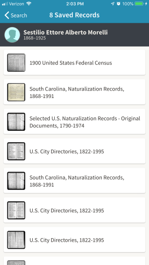 ancestry records