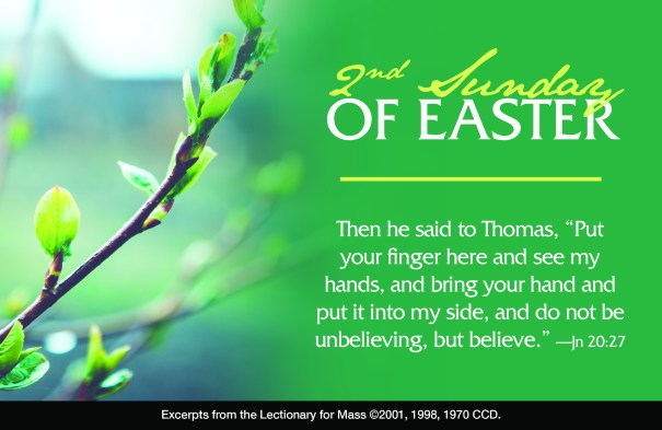 2nd Sunday of Easter 4:23:17