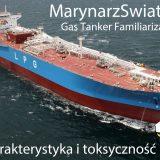 Gas Tanker Familiarisation – kurs #8 | Charakterystyka i toksyczność ładunków
