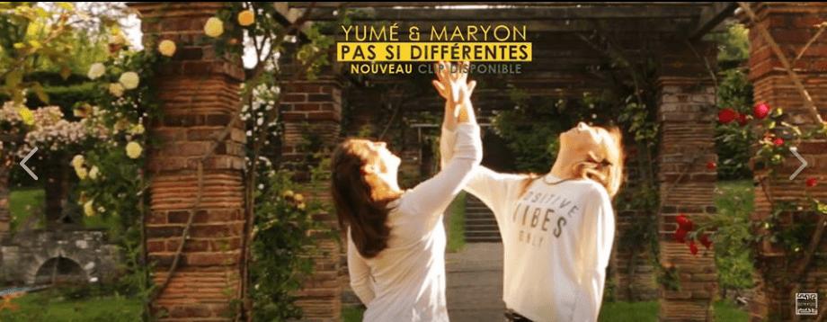 Pas si différentes - Maryon Corbelli et Yumé