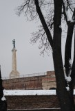 "Monument of ""the Victor"" at the Belgrade Fortress"
