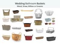 'Ladies Room' Wedding Basket - Mother of the Bride