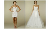 Two in One Wedding Dress - Mother of the Bride