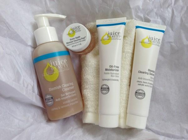Juice Beauty Organics Clear Skin Kit Little