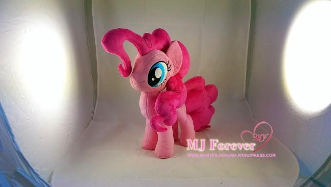 Pinkie Pie plushie by meeeee!!!!
