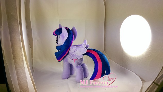 Twilight Sparkle plushie w removable wings made by meeee!!!!!