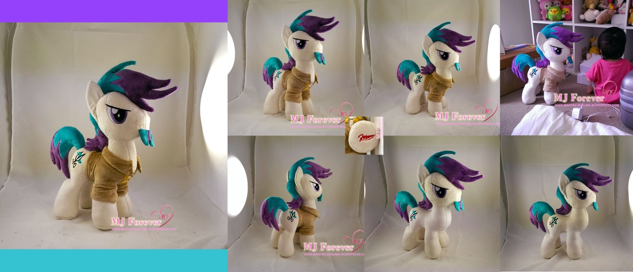 Clip cowlick plushie sewn by meee!!!!!