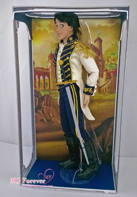 """Limited Edition 18"""" Prince Eric Doll"""