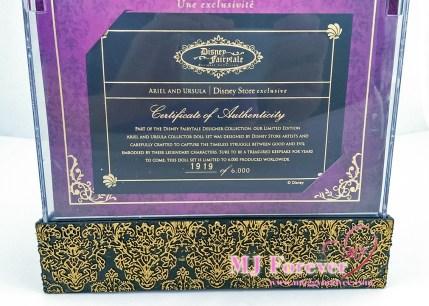 Disney Fairytale Designer Collection Ariel and Ursula. LE 6000