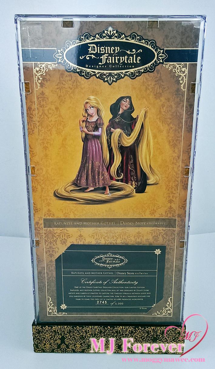 Disney Fairytale Designer Collection Rapunzel and Mother Gothel. LE 6000