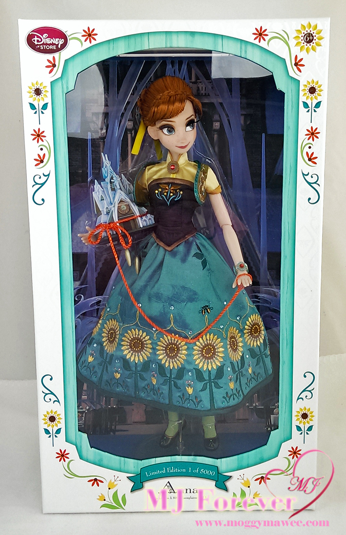 """17"""" Anna Frozen Fever Limited Edition doll. LE 5000"""