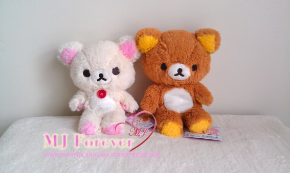 My Only Rilakkuma plush set (keeping)