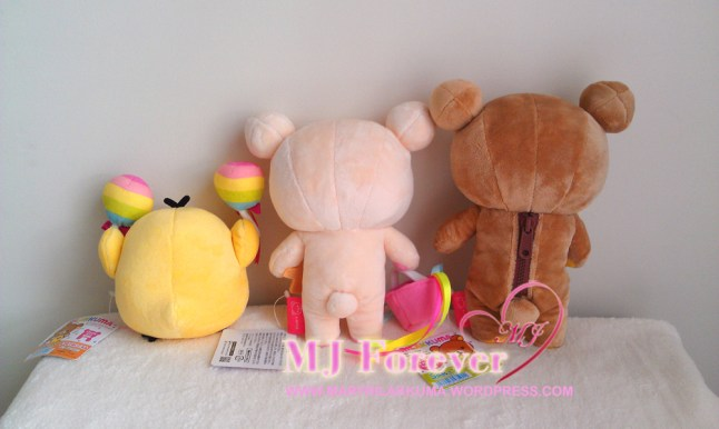 7th Anniversary Rainbow plush set (sold)