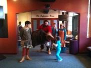 Thor meets a fan