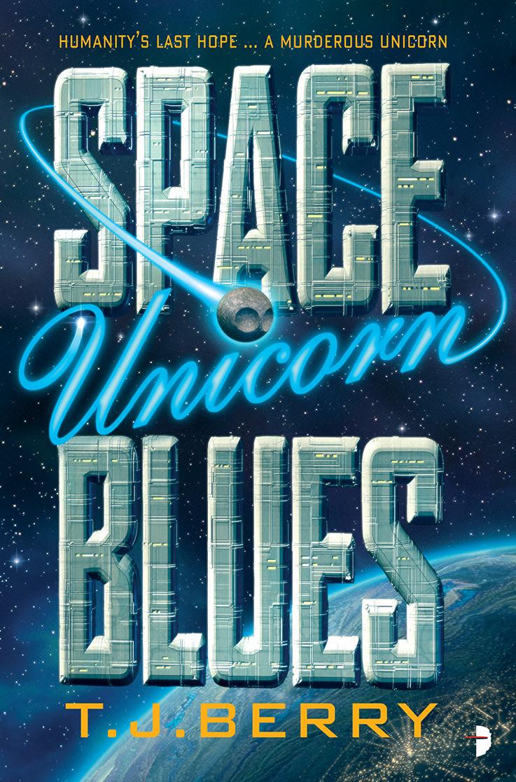 Space Unicorn Blues cover image