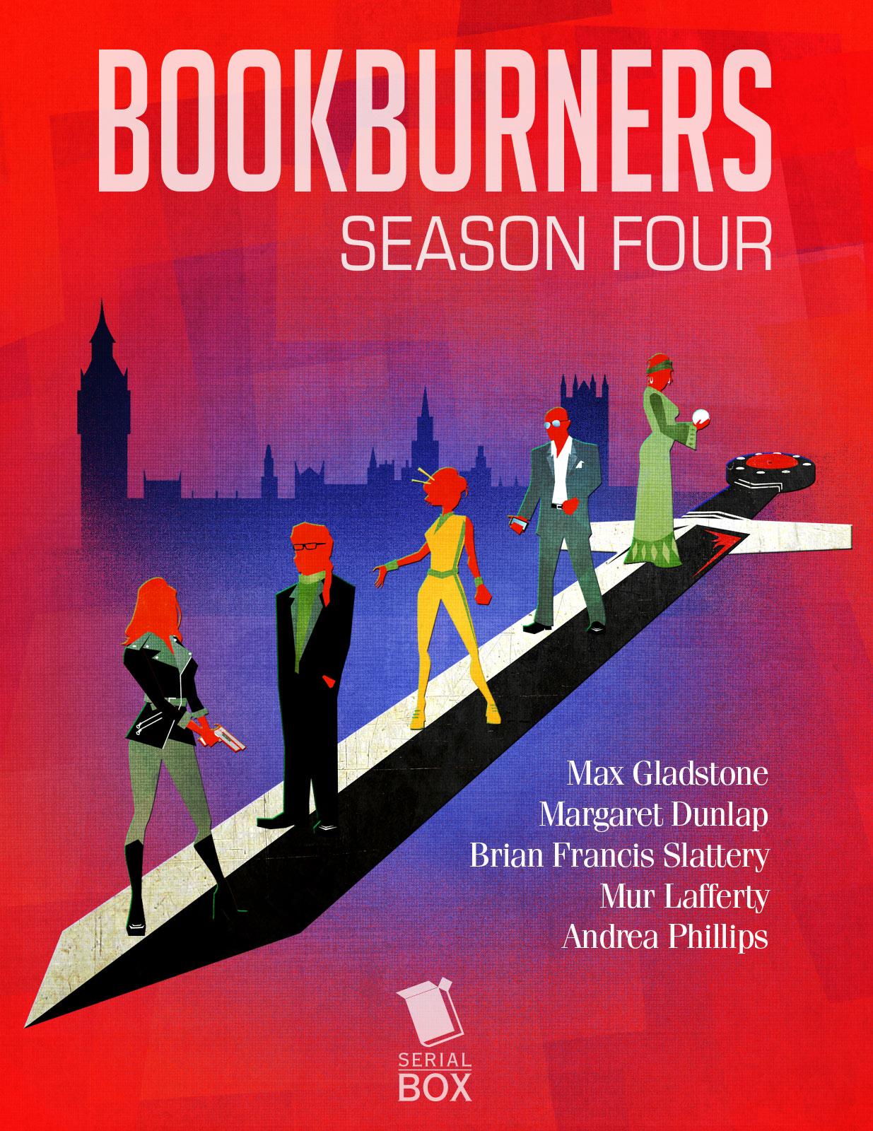 Bookburners Season 4 cover image