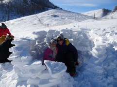 Our igloo!