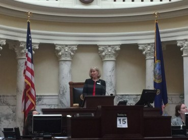 I was honored to lead the Senate's Memorial for former members who passed away during 2016.