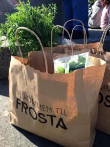Grønnsaker fra Frosta
