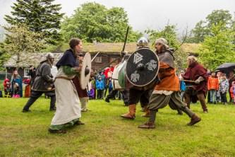 Vikinger på Leikvin