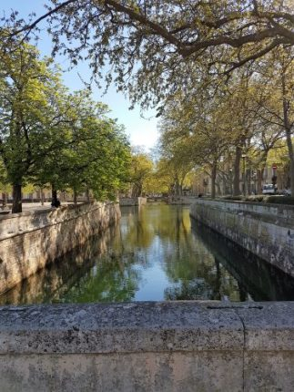 Canal at Nimes