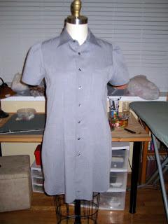 Thrift Shop Refashion of Mens Dress Shirt1