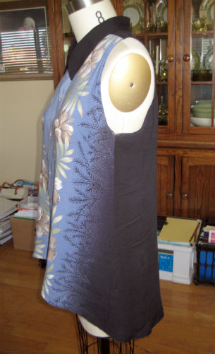 Hawaiian Shirt Refashion5