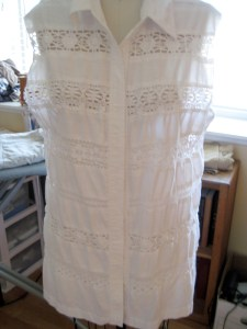 Linen and Lace Refashion01
