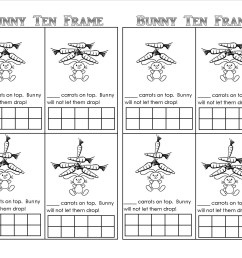 10 Frame Addition Worksheet   Printable Worksheets and Activities for  Teachers [ 1275 x 1650 Pixel ]